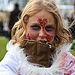 Bundled Up Zombie Girl