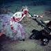 Zombie Vs. Goth Warrior