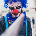 Blue Hair Clown
