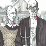American Gothic Zombified