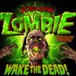 Energy drink of the dead: Screaming Zombie