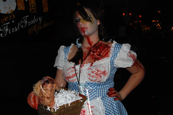 Yes, zombies can be hot. This zombie Dorothy was.
