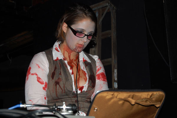 So was the zombie librarian/DJ. She had great taste in music, too!