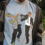Fashion Zombie: Obama vs the zombie